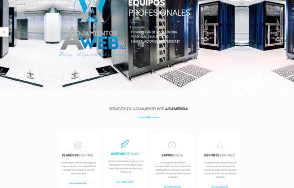 Página Web Alojamientos Web