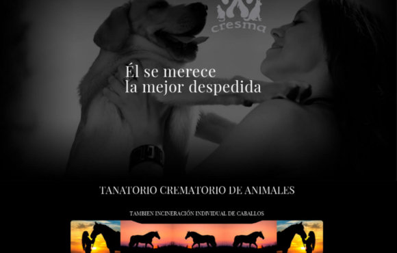 Página Web Cresma Crematorio Mascotas