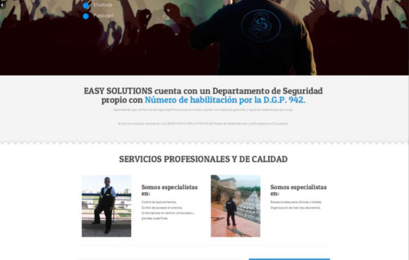 Página Web Easy Solutions