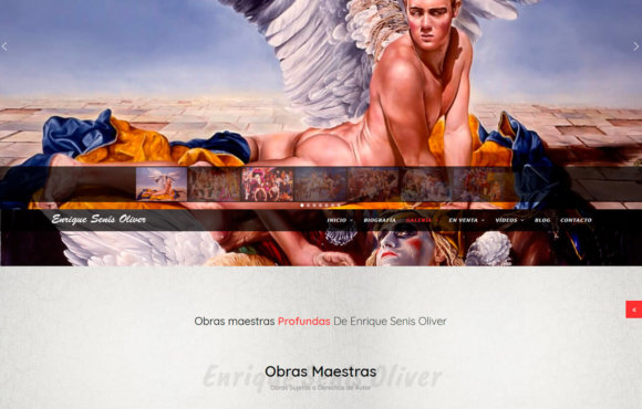 Página Web Enrique Senis Oliver