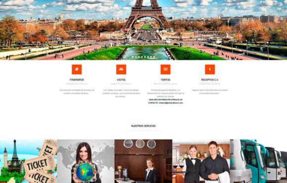 Página Web Integral Tours