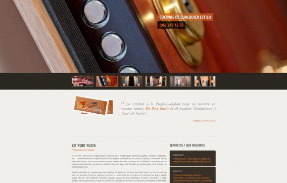 Página Web Kit Port Fusta