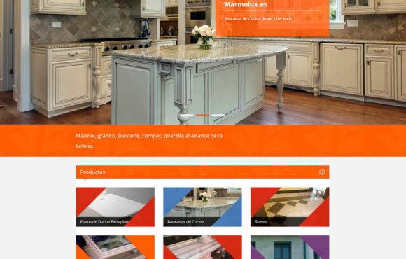 Página Web Marmolux