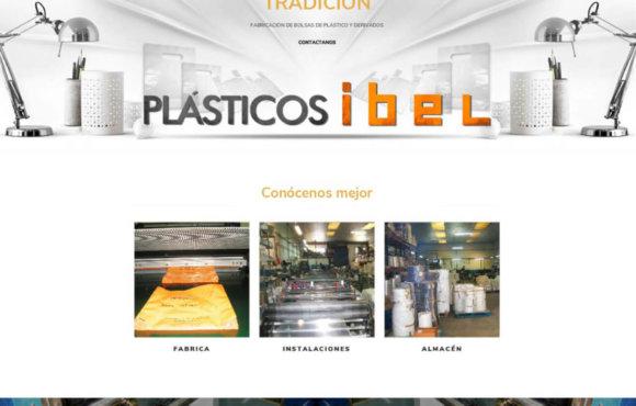 Página Web Plasticos Ibel
