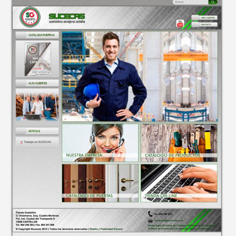 Página Web SUCECAS