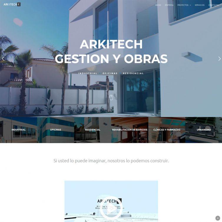 Página Web Arkitech