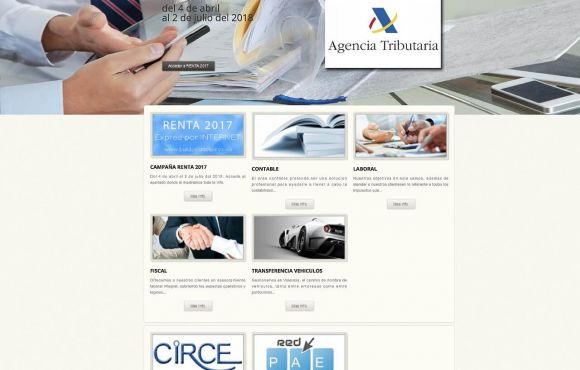 Página Web Baldovi Asesores