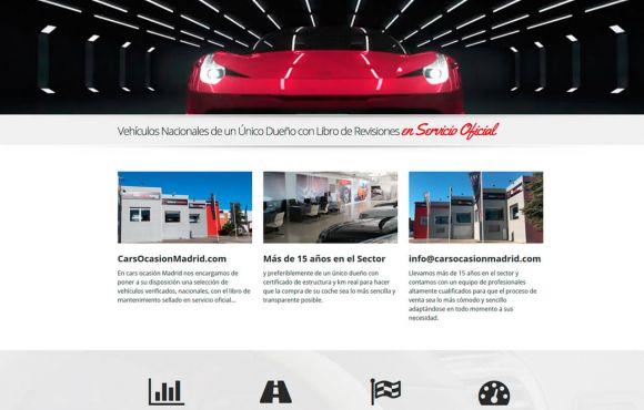 Página Web Cars Ocasión Madrid