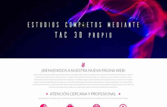 Página Web Clínica Dental Carlos Cervera