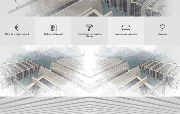 Página Web Construcciones Hermanos Catala