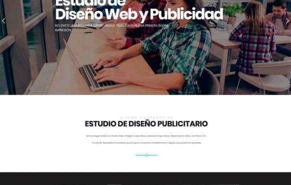 Página Web DiseñoCorporativo.com