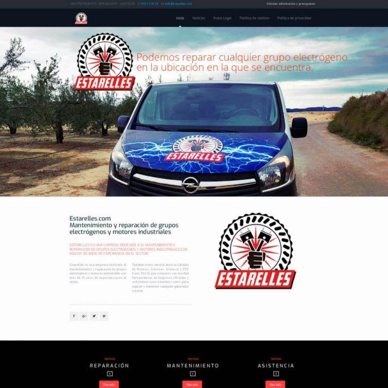 Página Web Estarelles