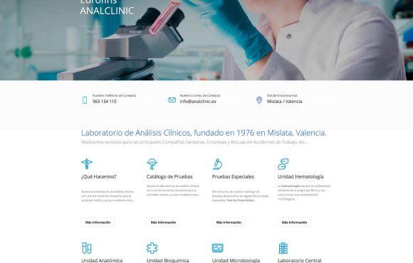 Página Web Analclinic Eurofins