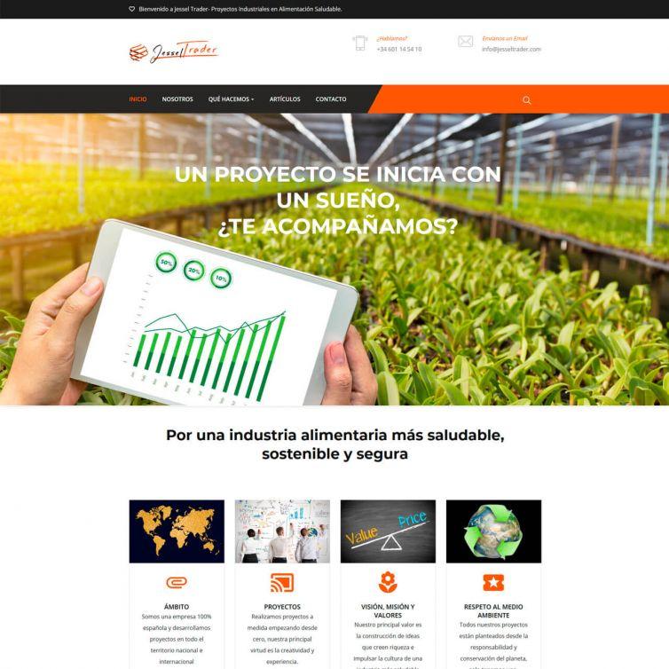 Página Web Jessel Trader