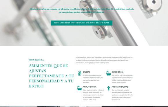 Página Web Kavin Glass