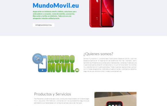 Página Web Mundo Movil