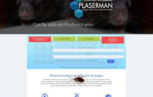 Página Web Plaserman