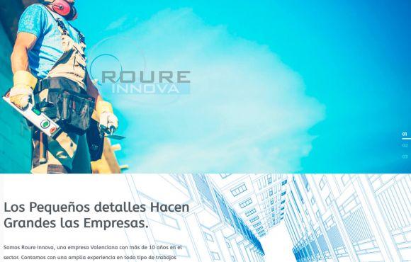 Página Web Roure Innova