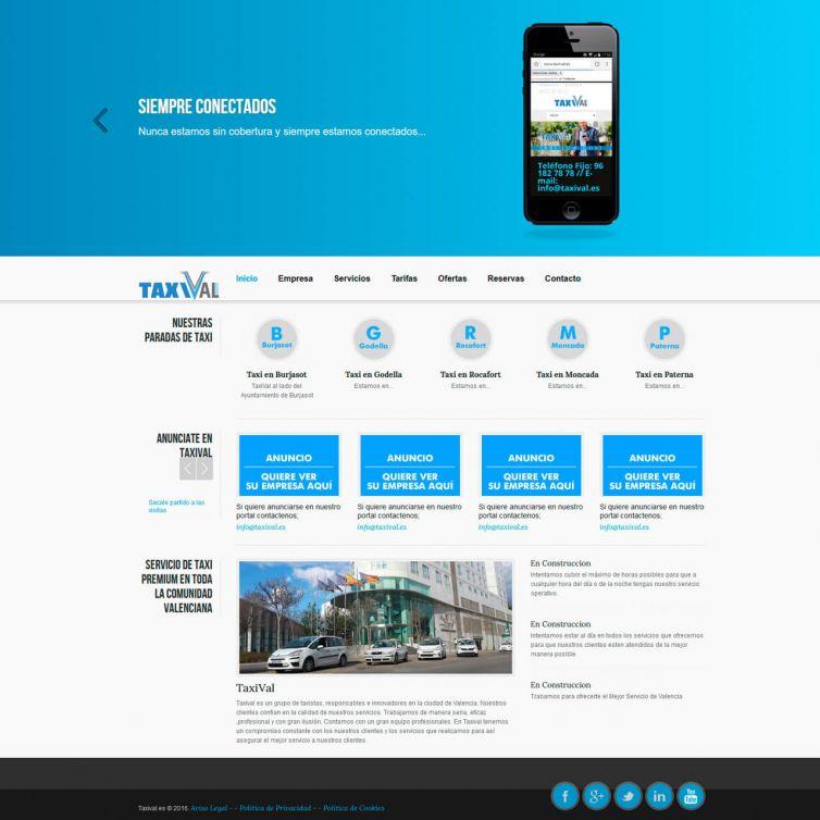 Página Web Taxival eu