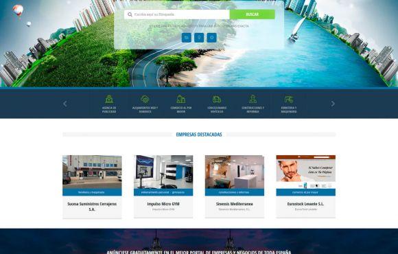 Página Web Todo Empresas