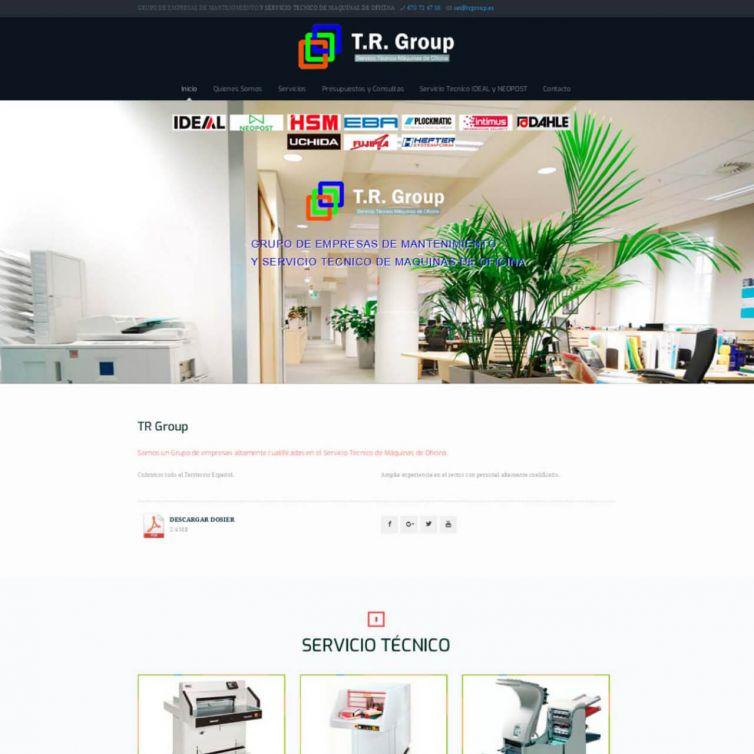 Página Web TR Group