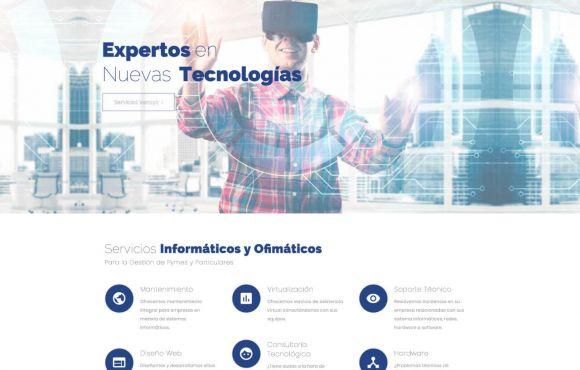 Página Web Vensys Global Solutions