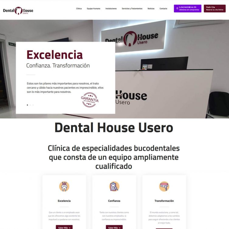 Página Web Dental House