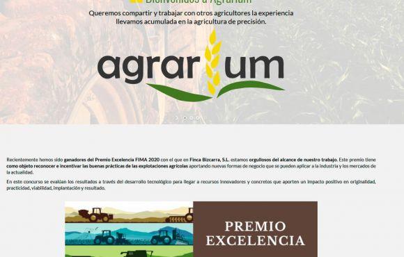 Página Web Agrarium