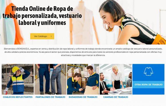 Página Web Bonsai Azul