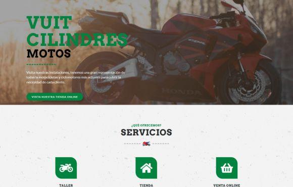 Página Web Vuit Cilindres